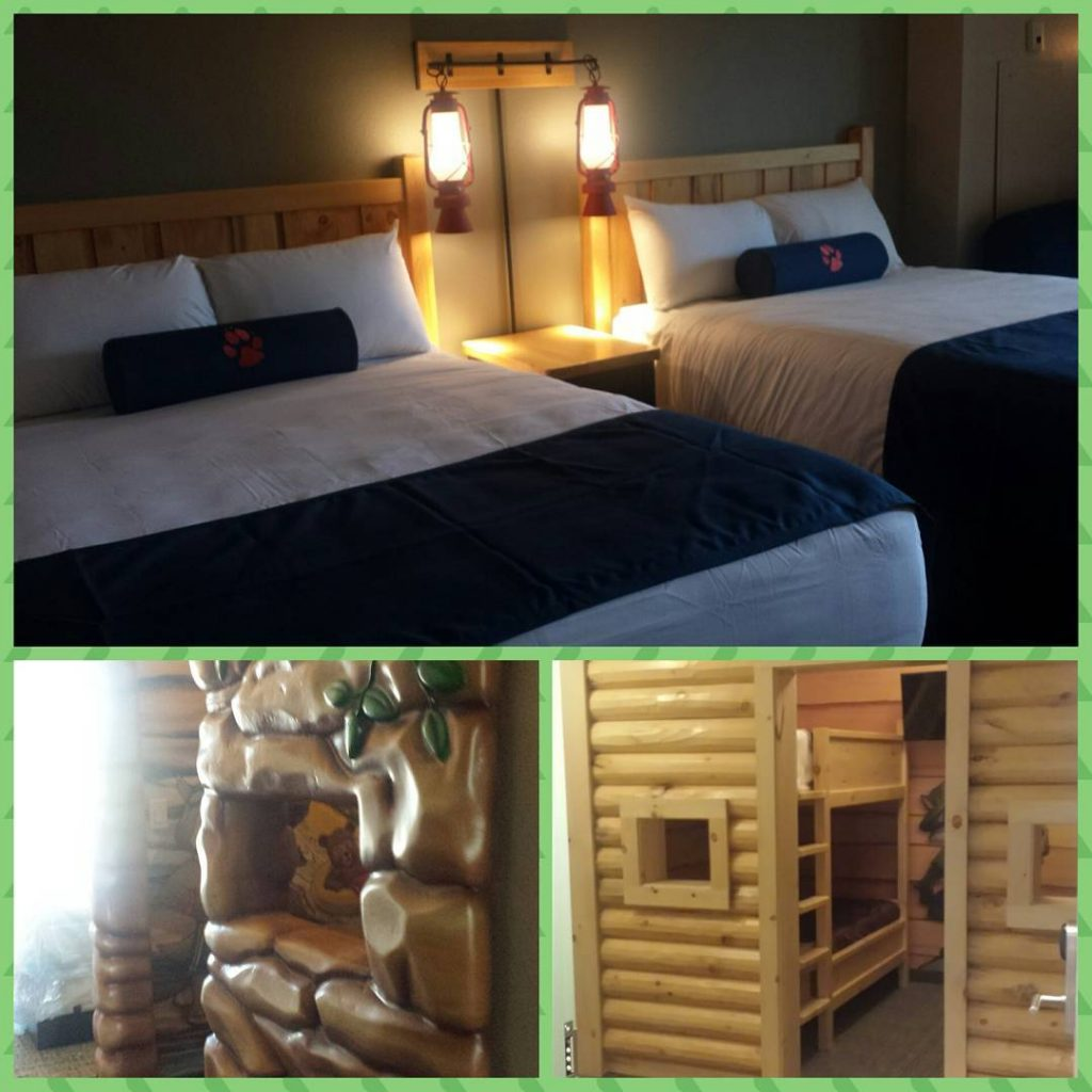 The guest rooms are great! Fun for the little oneshellip