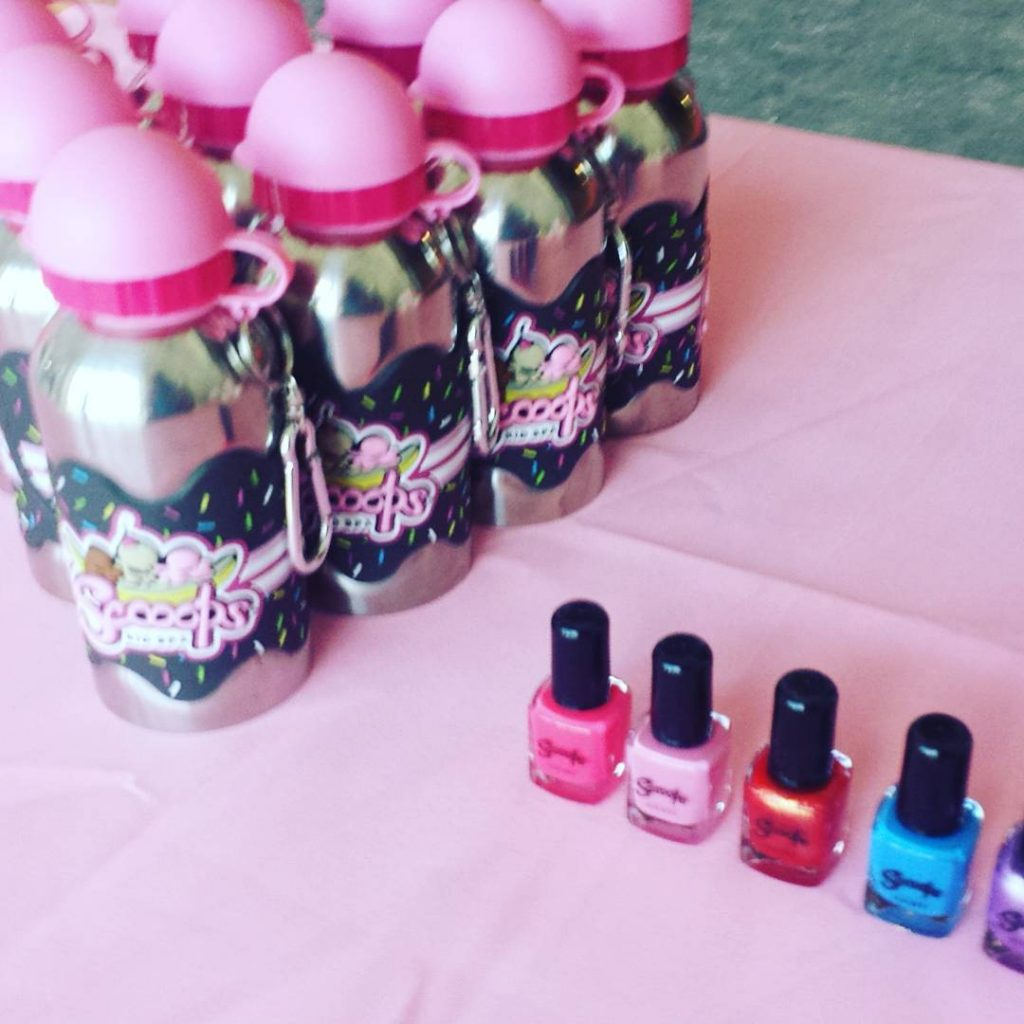 A mommydaughter ice cream themed nail salon Dunkin Donuts Benhellip