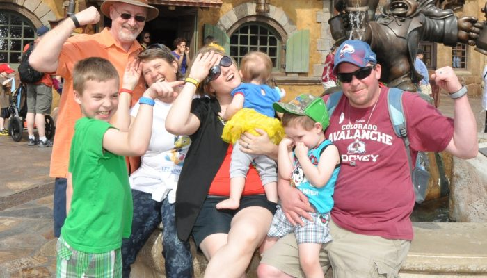 Multi-Generational Disney Magic #UnforgettableHappensHere