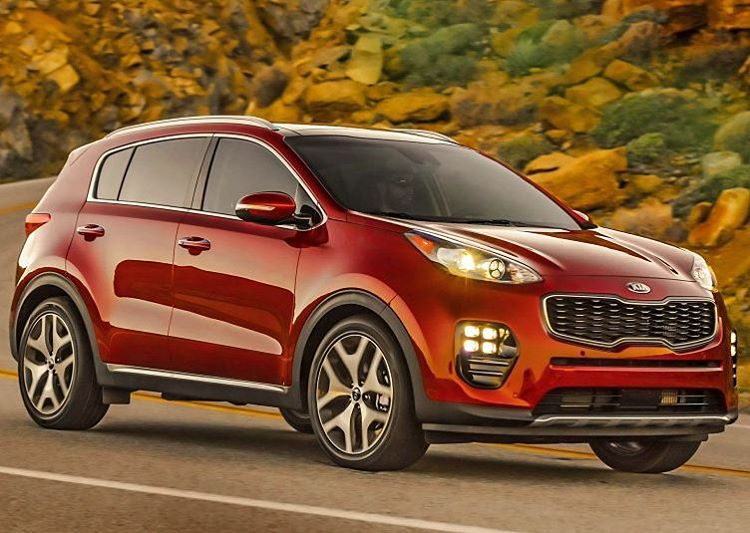 Were getting the beautiful 2017 Kia Sportage SX to reviewhellip